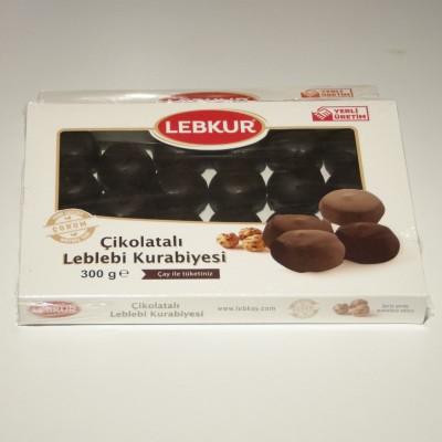 Çikolatalı Leblebi Kurebiyesi