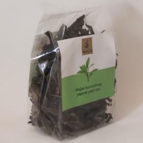 Doğal Kurutulmuş Yaprak Yeşil  40 gr.Çay (Kuru's)