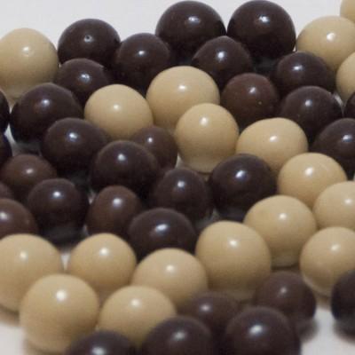 Karışık Çikolatalı Leblebi (Sütlü Bitter Elit Özel